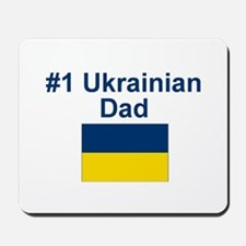 #1 Ukrainian Dad Mousepad