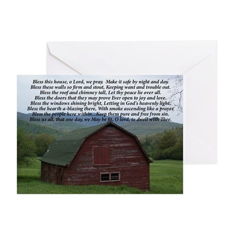 Bless This House note Cards (Pk of 10)