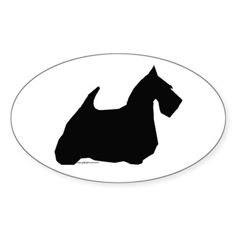 Scotty 2 Oval Sticker