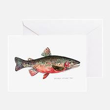 Greenback Cutthroat Trout Greeting Card