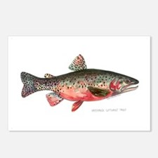 Greenback Cutthroat Trout Postcards (Package of 8)