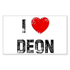 I * Deon Rectangle Decal