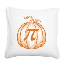 pumpkin-pi-T Square Canvas Pillow