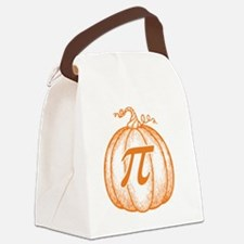 pumpkin-pi-T Canvas Lunch Bag