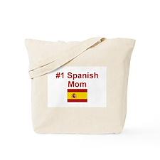 #1 Spanish Mom Tote Bag