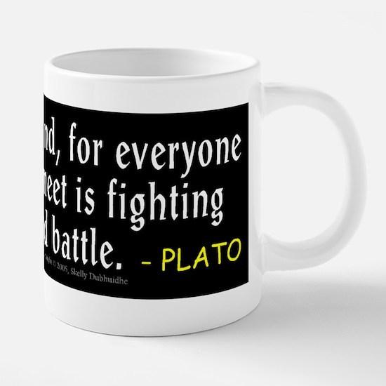 Plato: Be Kind Mugs
