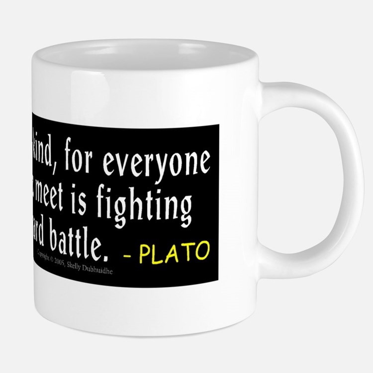 Plato: Be Kind Mugs