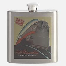Hiawatha_Milwaukee_Road_Advertisement_1939 Flask