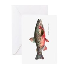 Greenback Cutthroat Trout Greeting Card