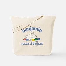 Easter Egg Hunt - Benjamin Tote Bag