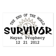 End of the World Survivor Postcards (Package of 8)