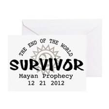 End of the World Survivor 2012 Greeting Card