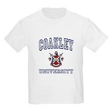 COAKLEY University Kids T-Shirt