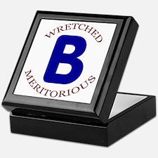Wretched, Meritorious B Keepsake Box