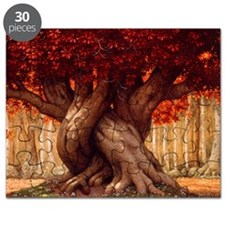 Enchanted Tree Puzzle