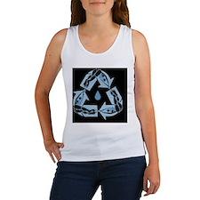 recycle-dive-OV Women's Tank Top