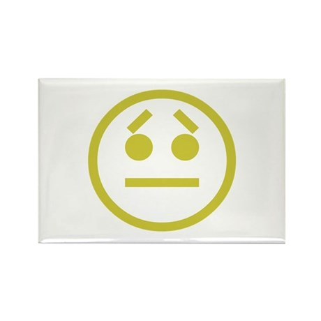 Worried Rectangle Magnet (10 pack)