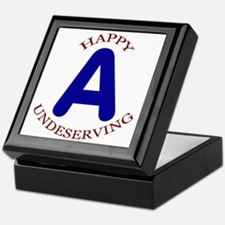 Happy, Undeserving A Keepsake Box
