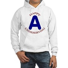 Happy, Undeserving A Jumper Hoody