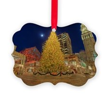 Faneuil Hall Christmas Tree Picture Ornament