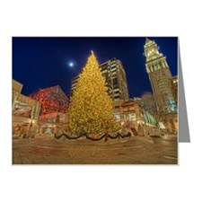 Faneuil Hall Christmas Tree Note Cards (Pk of 10)