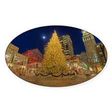 Faneuil Hall Christmas Tree Decal