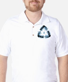 recycle-dive-DKT Golf Shirt