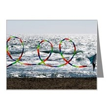 A long curling tail of a stu Note Cards (Pk of 20)