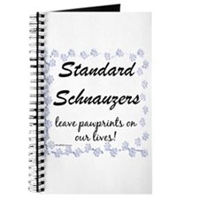 Schnauzer Pawprint Journal