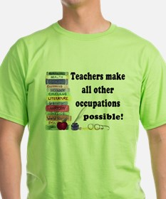 """Teacher Occupations"" Ash Grey T-Shirt"
