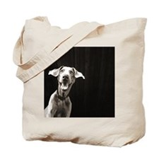 Happy Weimaraner Tote Bag