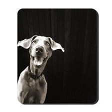 Happy Weimaraner Mousepad