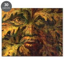 October Green Man Puzzle
