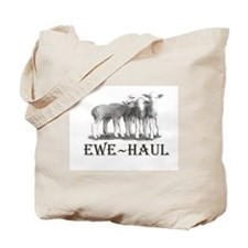 Ewe Haul Muslin Tote Bag