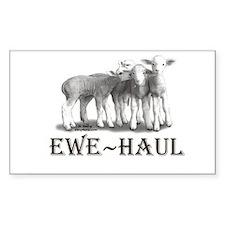 Sticker Ewe Haul ~ Dorset Lambs