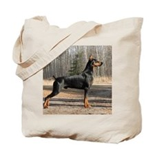 September Doberman image 2 Tote Bag