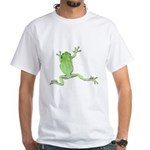 Tree Frog Photo White T-Shirt