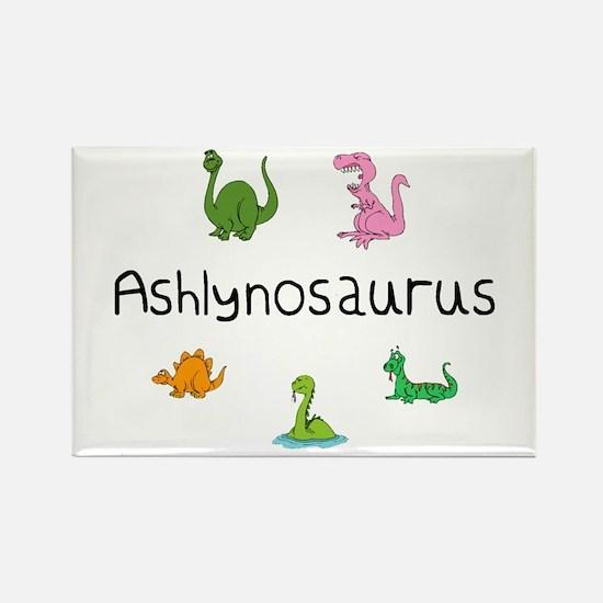 Ashlynosaurus Rectangle Magnet