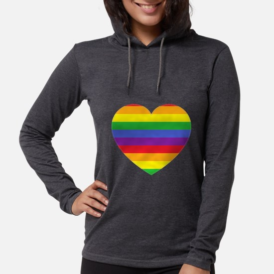 Rainbow Valentine Long Sleeve T-Shirt