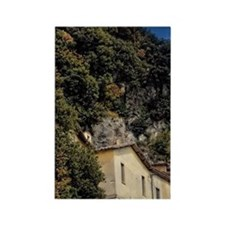 View of Convent of Greccio, Italy Rectangle Magnet