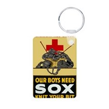 Our Boys Need Sox vintage  Keychains
