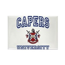 CAPERS University Rectangle Magnet