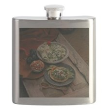 Authentic Mexican entrees Flask