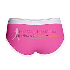 Half Marathon Mama - 13.1 Miles  Women's Boy Brief