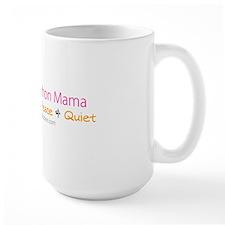 Half Marathon Mama - 13.1 Miles of Peac Mug