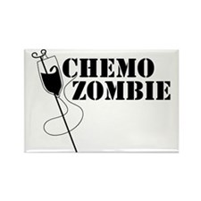 Chemo Zombie Rectangle Magnet
