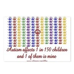 Autism Hands Postcards (Package of 8)