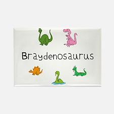 Braydenosaurus Rectangle Magnet
