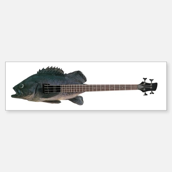 Bass Guitar Bumper Bumper Bumper Sticker