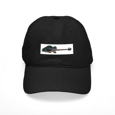 Bass Guitar Black Cap